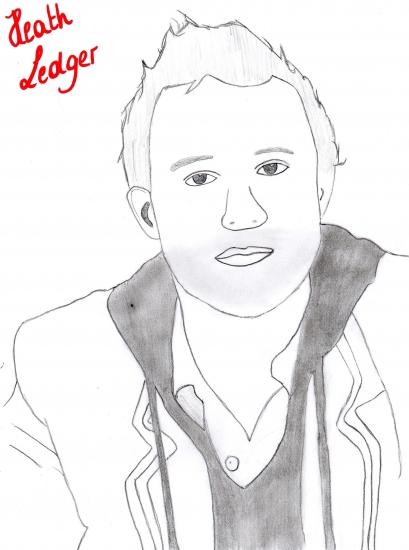 Heath Ledger by Evii
